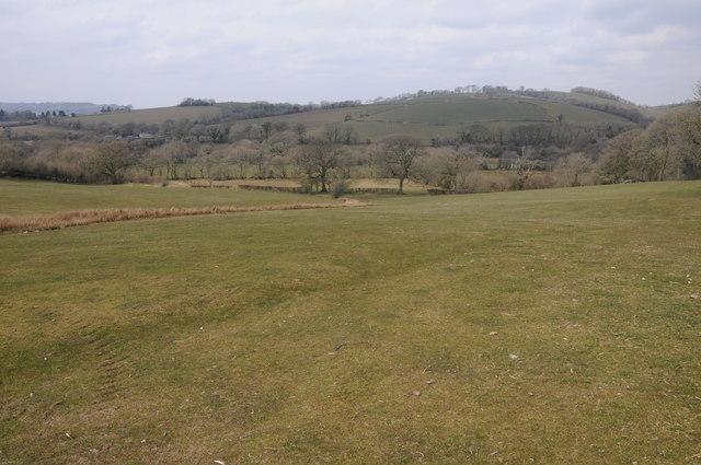 Farmland near Whitland Abbey
