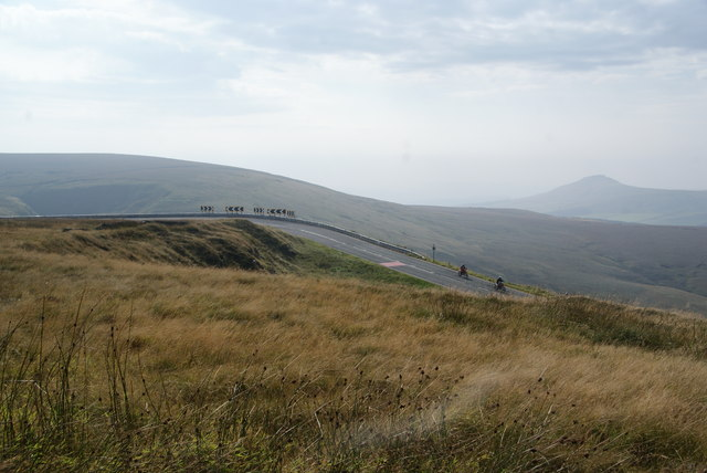 Motorbikes on the Cat and Fiddle Road