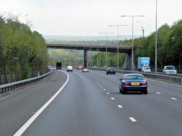 London Road (A20) Bridge Over the M20