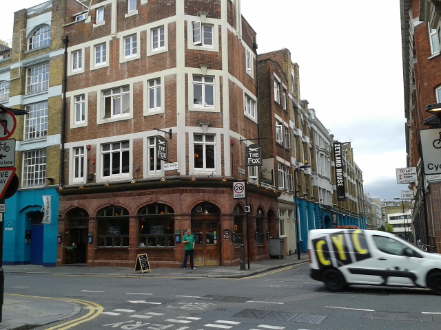 The Fox, on the corner of Paul Street and Epworth Street