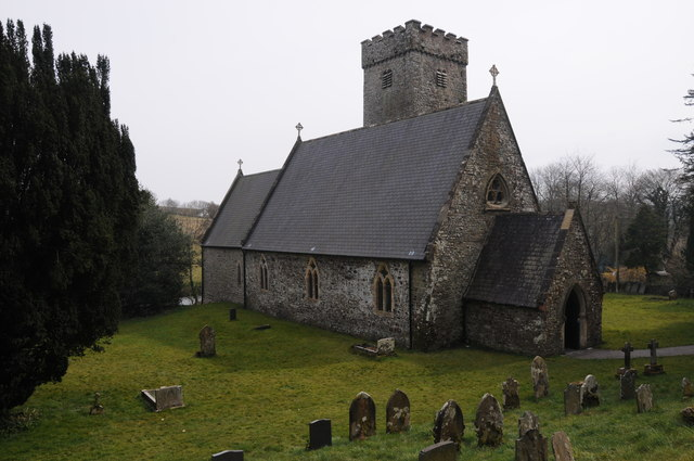Llawhaden church