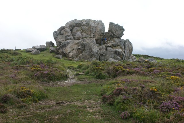 Plumstone Rock from the north