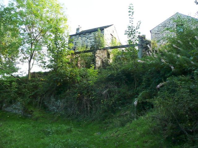 Ruin at Upper Bradley Mill