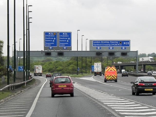 M20/M26 Interchange (Junction 3)
