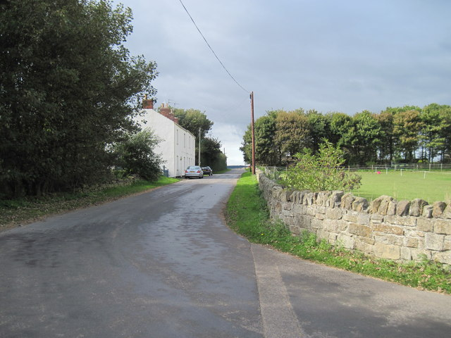 Kilton  Thorpe  Lane  into  Kilton  Thorpe