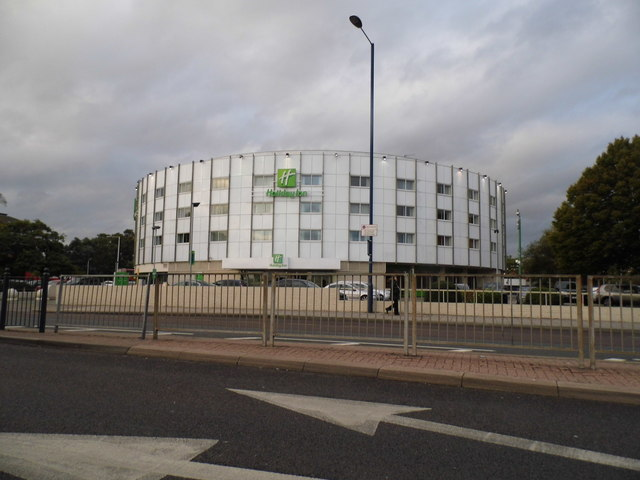 The Holiday Inn Hotel on Bath Road, Harlington