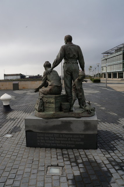 The Neil Hadlock's Sculpture, Humber Quays, Hull