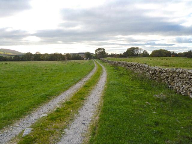 Track towards Mark Farm