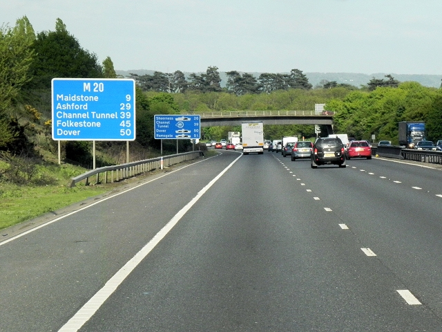 Southbound M20