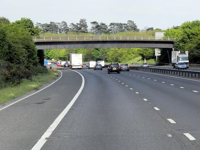 Roughetts Road Bridge Over the M20