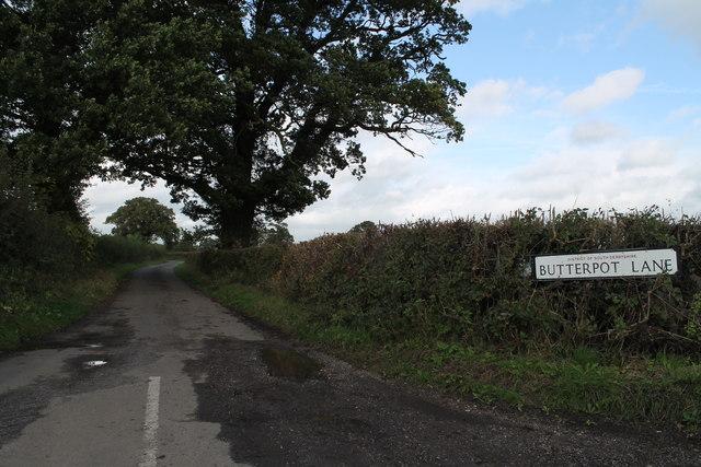 Butterpot Lane