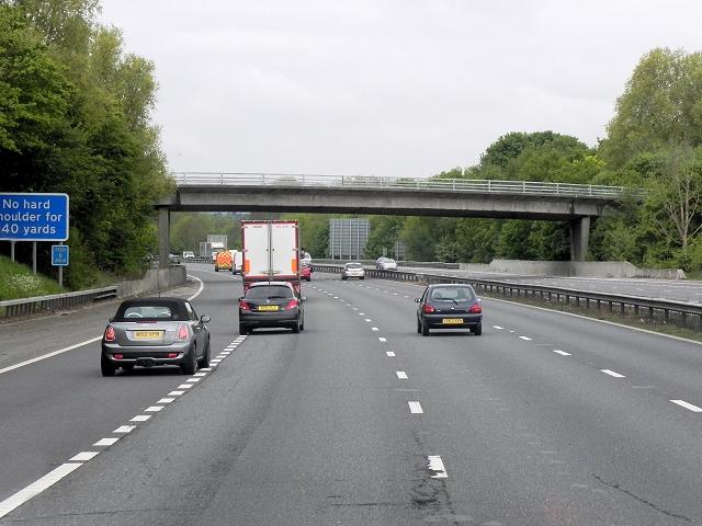 Birling Road Bridge over the M20