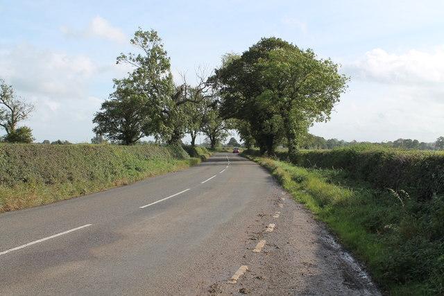 Leathersley Lane facing south east