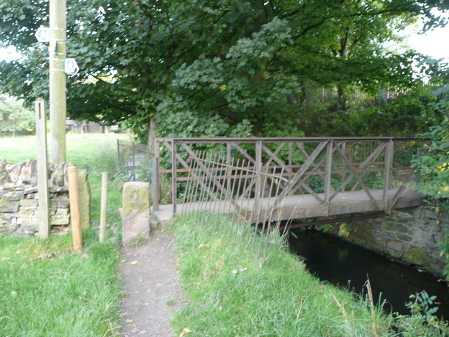 Footbridge over Black Brook