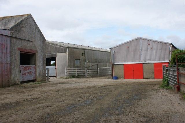 Farmyard at Barnards Hill