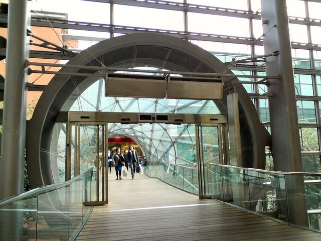 Bridge from M&S to the Arndale