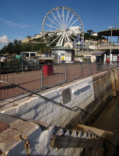 Steps, Torquay inner harbour