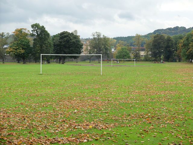 Football pitch on the South Inch