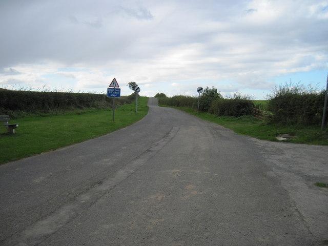 Moorsholm  Lane  west of  Liverton