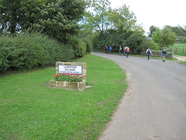 Entering  Liverton  on  Moorsholm  Lane