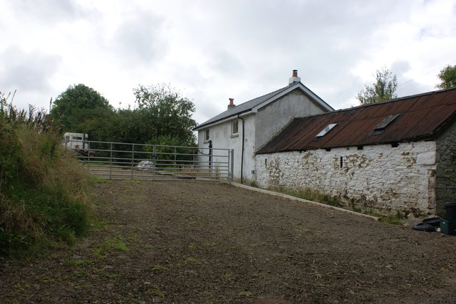 Farmhouse and barns at Pen-parc