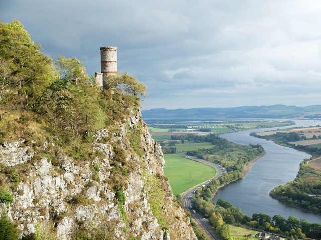Tower on Kinnoull Hill