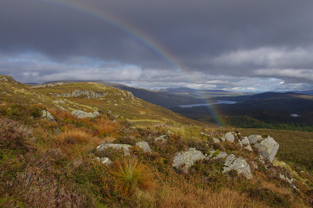 Rainbow on Creag Innich
