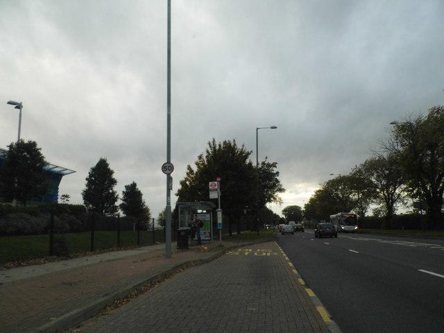 Bath Road by Heathrow Airport