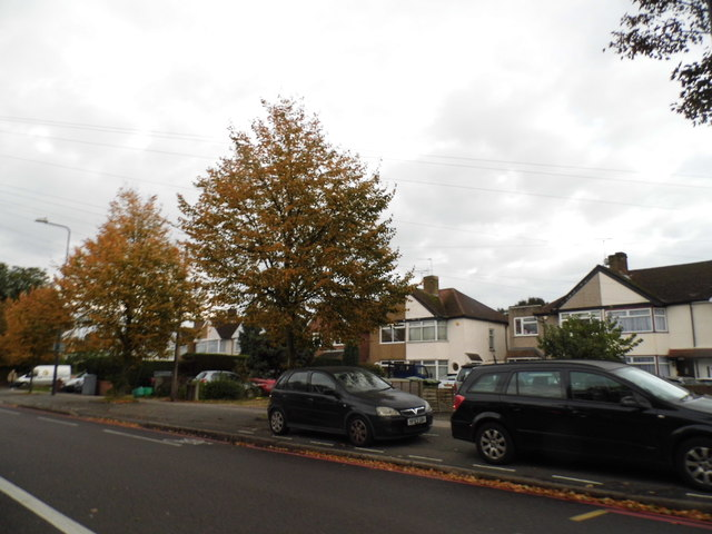 Houses on Uxbridge Road, Feltham