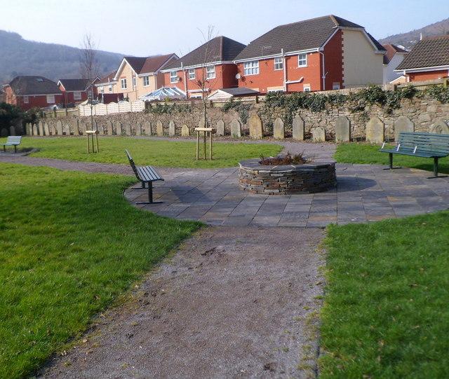St Michael's Church Memorial Garden, Cwmavon