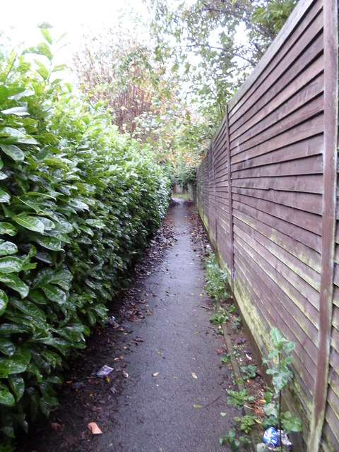 Footpath to Great Billing