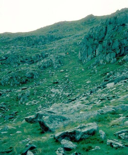 Coire Cnamha on An Stac