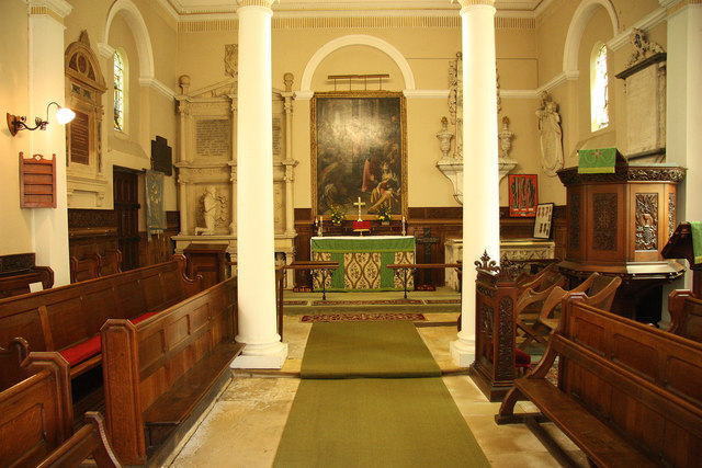 Church of the Holy Rood nave & chancel
