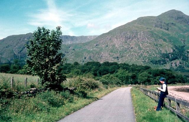 A861 at North Corran