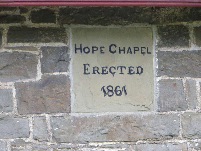 Date stone on the Chapel