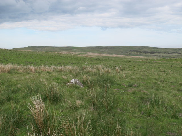 Moorland south of the Burma Road