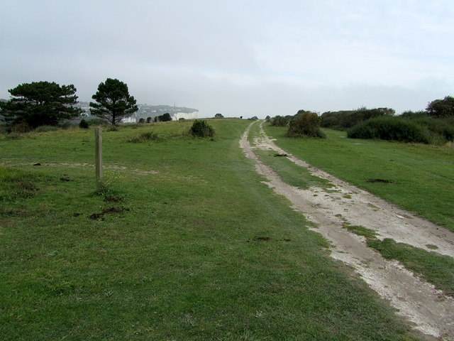 Saxon Shore Way above South Foreland