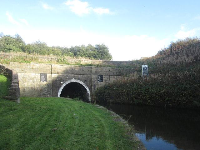 Western end of Gannow Tunnel