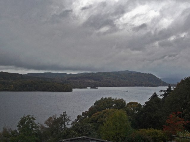 Windermere on a grey day