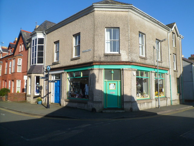 Corner of Margaret Street and Steeple Lane, Beaumaris