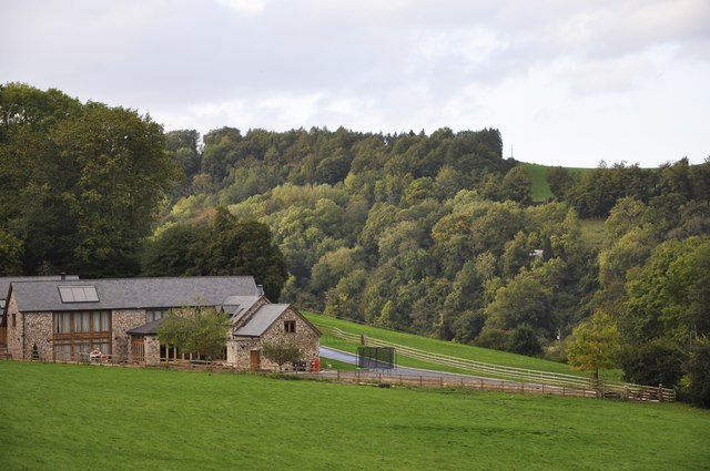 View across the Wye Valley