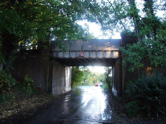 Railway Bridge over Church Road, Tonge