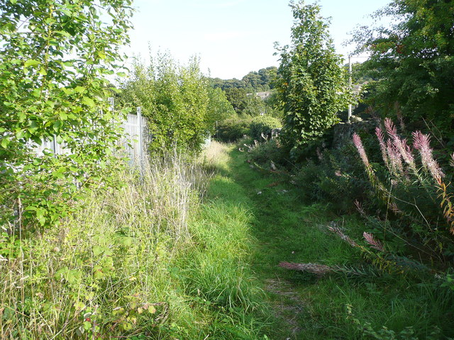 Elland FP36 past the site of Lower Bradley Mill