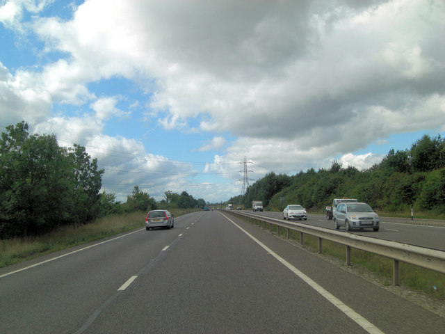A5 south of Downton