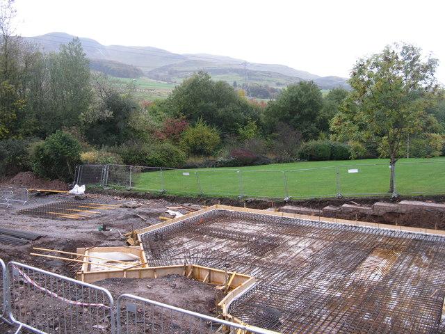 Foundations at Lothianburn