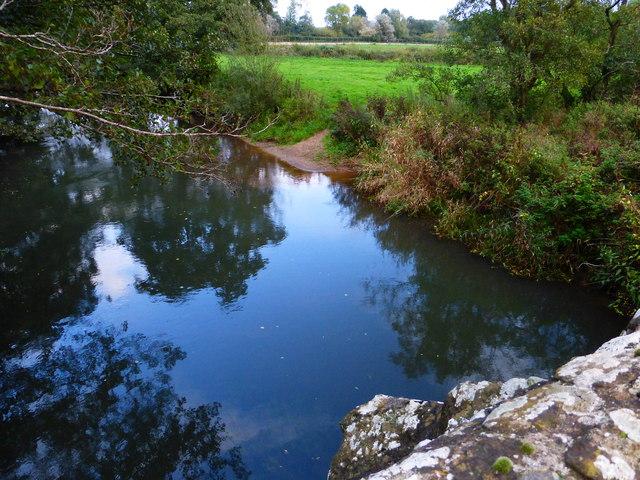 The River Rother at Ambersham Bridge