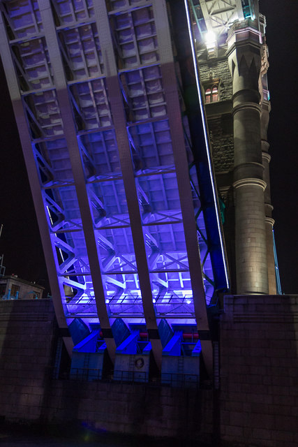 Tower Bridge Opening, London SE1