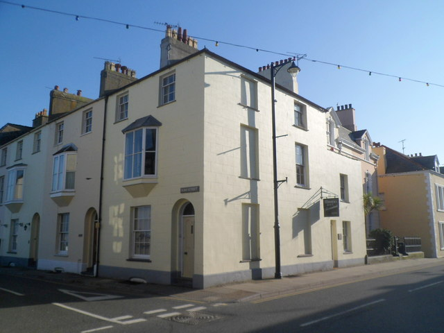 Corner of Castle Street and Alma Street, Beaumaris