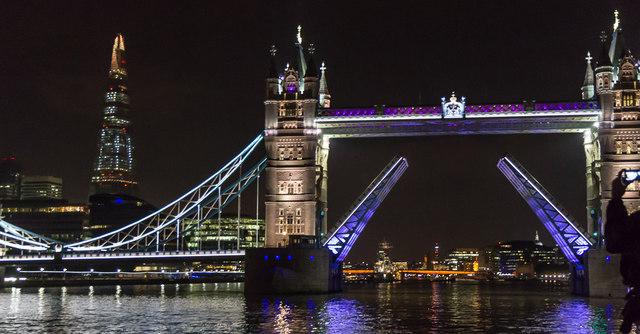 Tower Bridge Opening, London SE1
