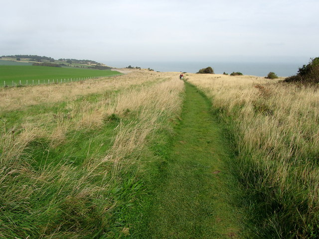 Saxon Shore Way on St. Margaret's Free Down